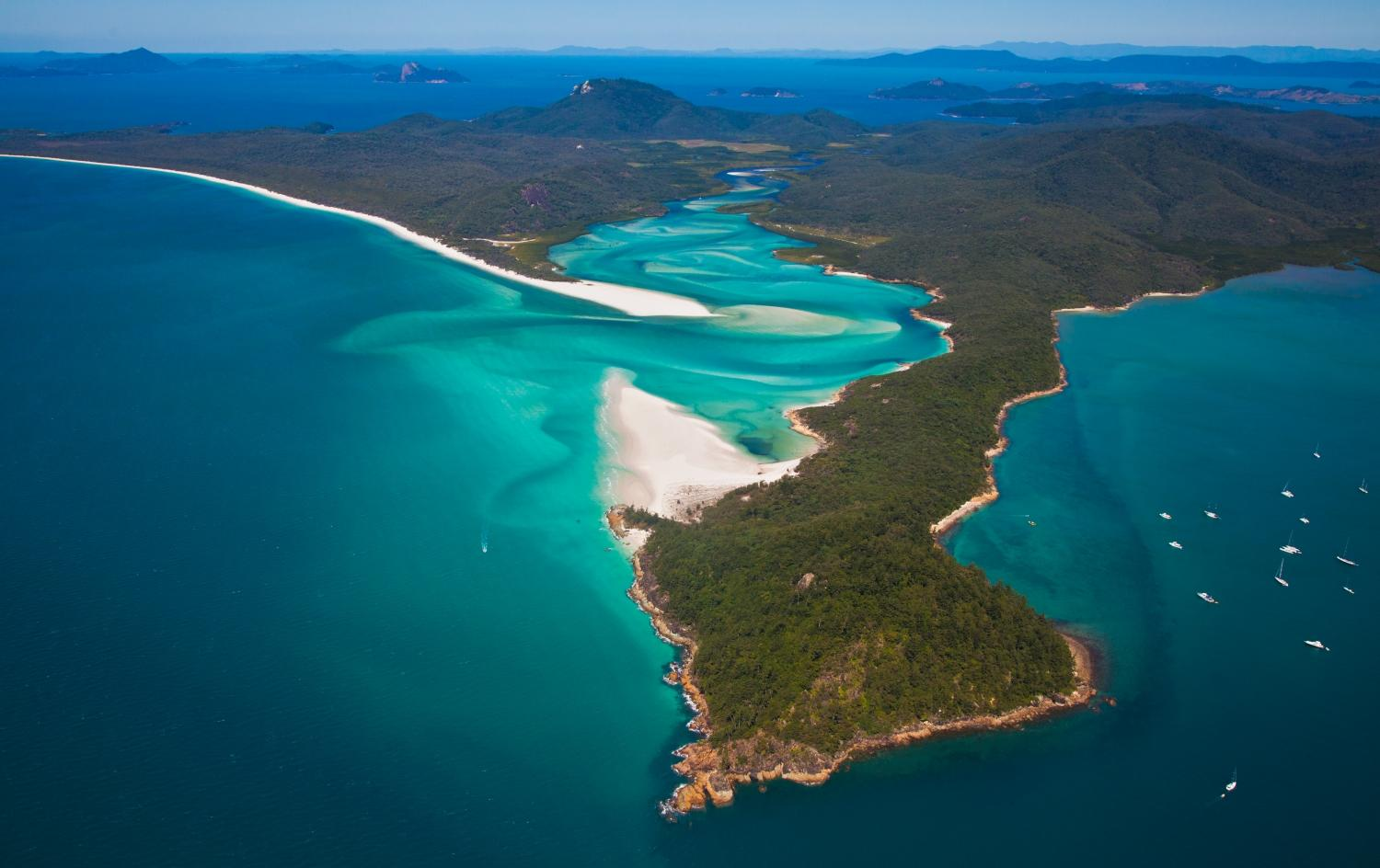 an overview of the whitsundays island