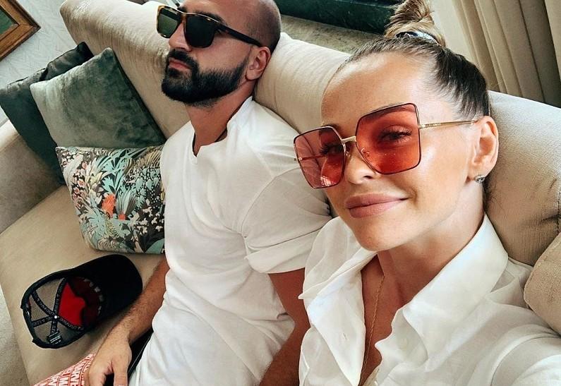 Анна Хилькевич поздравила мужа с годовщиной свадьбы