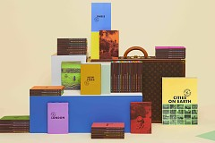 Книжный pop-up бутик Louis Vuitton в отеле Brach Paris